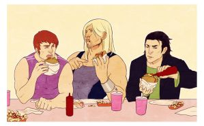 Shawarma Time by Lelia
