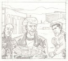 Panel from 'Dealers' - Pencils by The-Real-NComics