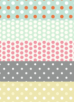 Free polka dot patterns by mfcreative