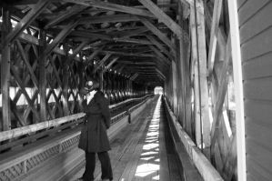 Into the wooden bridge by thecapricorn