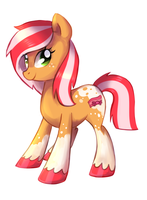 Candy Bacon - Pony Oc by pepooni