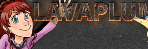 Lavaplume's YouTube Banner (Small) by InkBlu