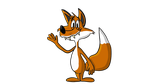 Goofy Fox Finished by cartoonsbykristopher