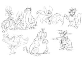7/25/2012 - Stream Doodles! by Eligecos