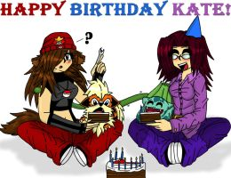 Happy B-Day Kate by LycanthropAsh