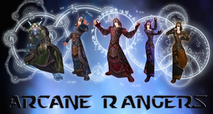 Arcane Rangers by MythicEl