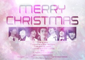 Merry Xmas 2PM by VicciVoo