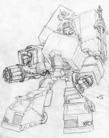 Motormaster Redesign Pencils by Heatherbeast