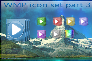 WMP icon set part 3 by tonev