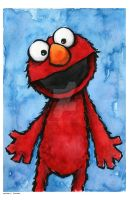 elmo by mjfletcher