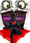Batman beyond colored by nic011