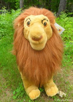 TLK Giant Simba plush by Pega-Flair