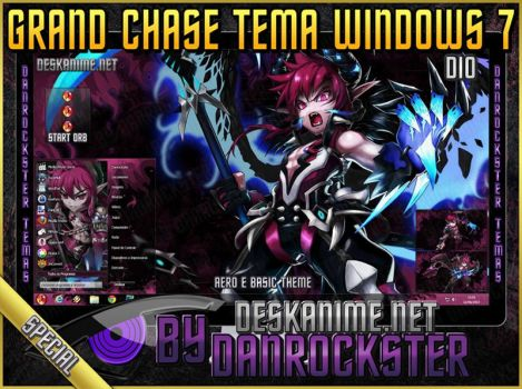 Dio Theme Windows 7 by Danrockster