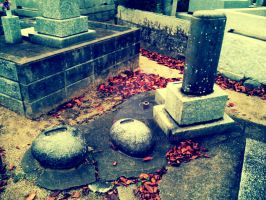 Japanese old grave 3 by 4eknight11