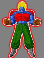 SSJ Android 13 powered up by azanmalik