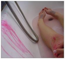 tom left mary bleeding. by cherrysuicide