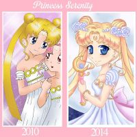 Princess Serenity Improvement by Mel-Rosey