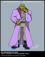TMNT TBOTS Dr. Don In Coat by theblindalley