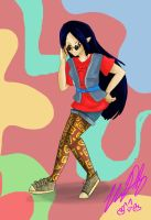 Hinode 60's outfit by TheReza13