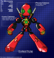 The Medabot with a mouth by pedro-lee