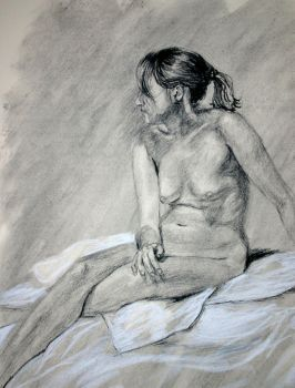 female figure study by iheartcheesus
