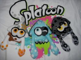 {CM} The 3 Squids by LadyGlitch