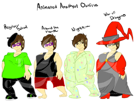 Animated Me outfits by AmzyTheChangeling