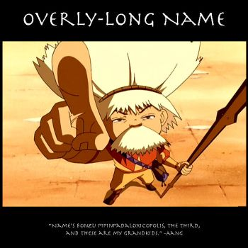 Overly-Long Name by SaucePear