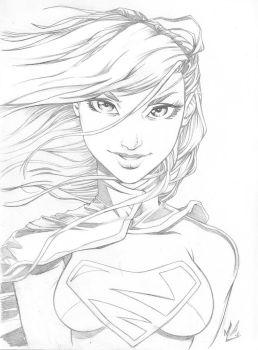 Supergirl by Marc-F-Huizinga