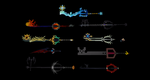 KH1 Era Keyblades + DL by Valforwing