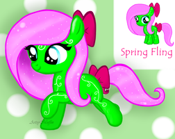 Adopted Oc - Spring Fling by ArtsyMuffin