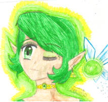 Saria, The Forest Sage by lollipop-socks