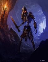 Skeleton Warrior by DrFaustus3