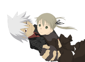 Soul eater: Soul and maka by Souuleaater
