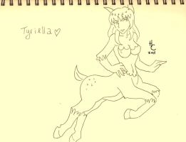 Tyriella : VotU OC full body by HARECROW