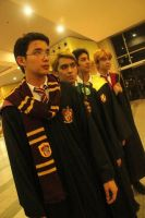 Harry Potter Group Cosplay by kevmark77