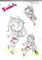 Isabella style and my style by Saranox000