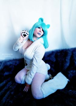 Fluffy Bear Tail by HeatherAfterCosplay