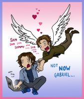 He Loves You Plain and Sabriel by blackbirdrose