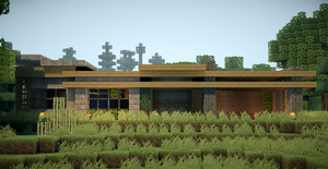 Minecraft Modern Survival House by andrewvtw