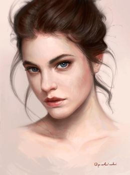 Portrait study by Greg-Opalinski