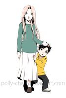 Sakura with child 2 by polly-chan