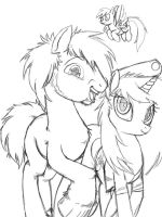 tyler  and lindsay ponys by tyler by lindsay711
