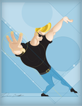 Narcissism and Denial 01: Johnny Bravo by sir-rudolph