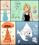 March/April 2015 Doodles by jpmeshew