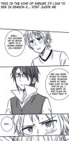 Sarumi scrap comic 2 (redrawn) by kaguya-lamperouge