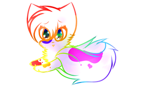 Splatter comission by Pastel-Charm
