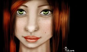 Ginger Girl by patione