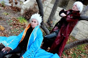 Dante and Vergil 1 by RedMindlessFilms