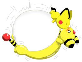 Blowing Ampharos by selphy6